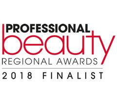 Professional beauty regional awards 2018 finalist